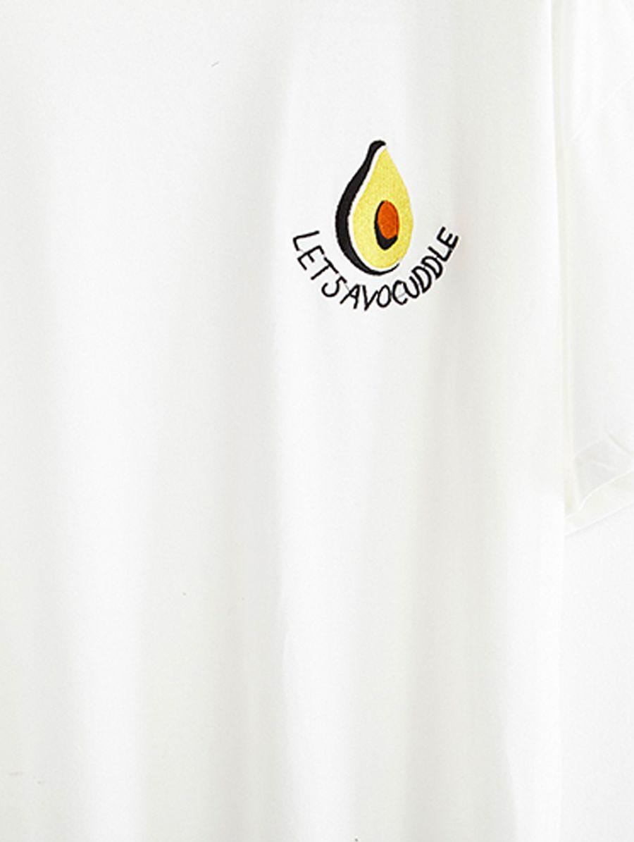 Avocuddle Tshirt White